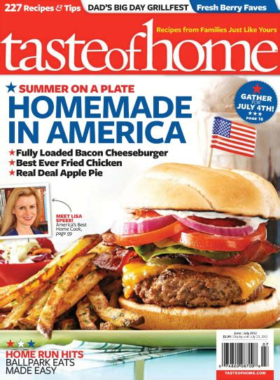 taste of home magazine subscription 3 99 for the year