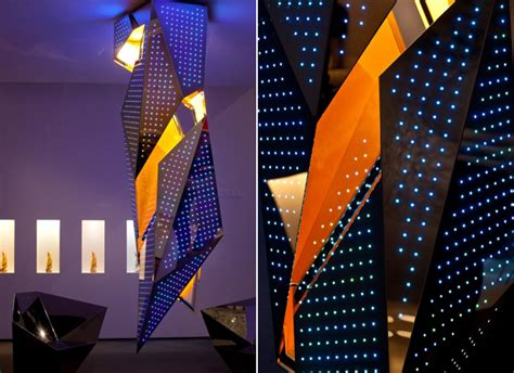 famous lighting designers daniel libeskind s lighting design creates a big bang