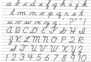 question of the week how important is cursive circe