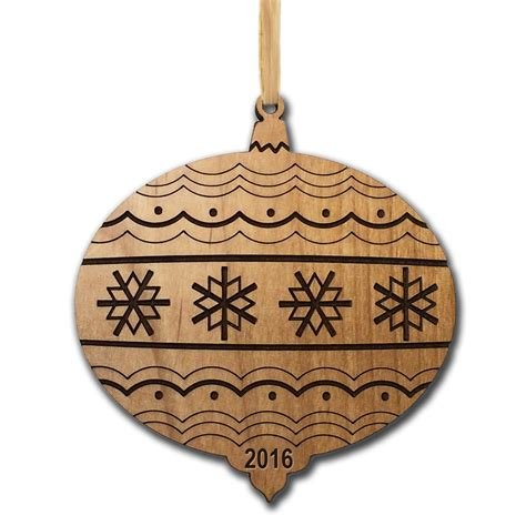 28 best wooden personalized christmas ornaments