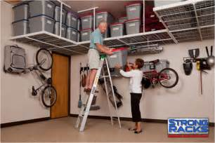 garage overhead ceiling racks overhead storage racks fort