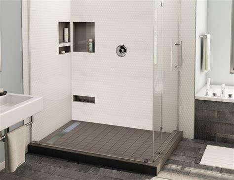 dusche fliesen modern ebenerdige dusche in 55 attraktiven modernen badezimmern