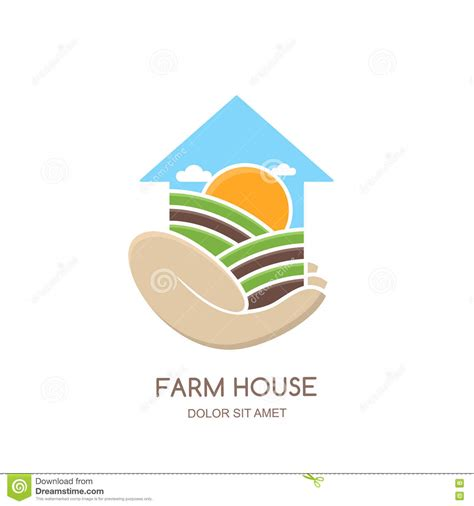 farm layout design software free download farm and farming logo label emblem design stock vector