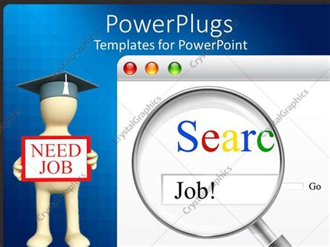 powerpoint templates unemployment powerpoint template searching of job for unemployed