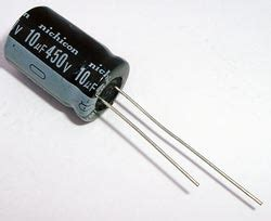 capacitor code for 10uf 10uf 450v radial electrolytic capacitor nichicon ucs2w100mhd west florida components