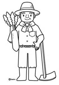 """為孩å�å€çš""""è—色é� Farmer  Free Coloring Pages sketch template"""