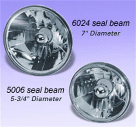 "5 3/4"", 6 1/2"" & 7"" sealed beam headlight conversion kit"