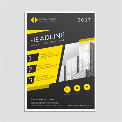 Company Poster Template business poster template vector free