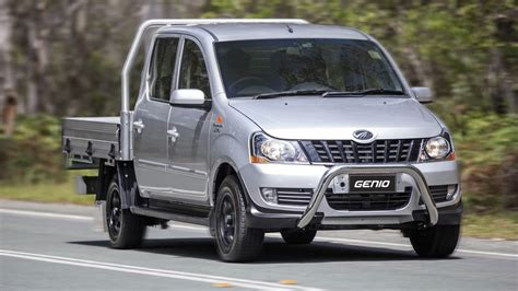 mahindra cars in australia 2016 mahindra genio now on sale in australia photos 1 of 3