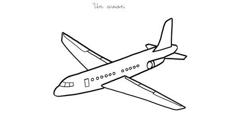 A380 Avion En Dessin