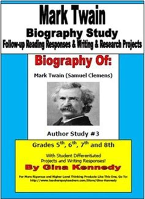 biography essay on mark twain plain printable book report forms blank book report