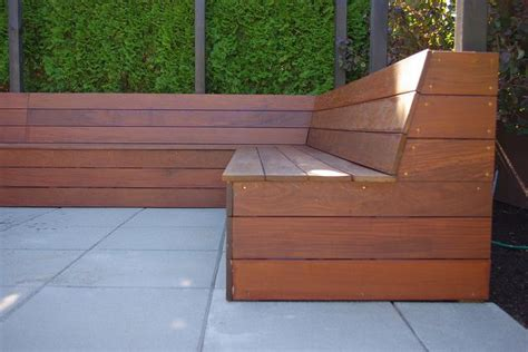 ipe bench ipe bench deck pinterest
