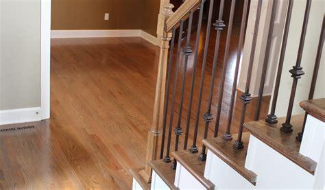 residential industrial wood floor finish