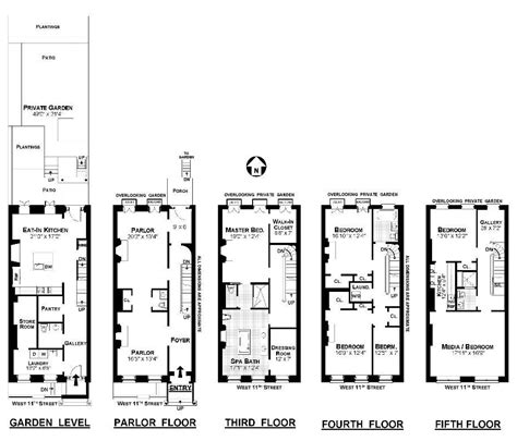 New York Brownstone Floor Plans by A Little New York City Eye Candy To End The Week Variety