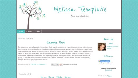 download free software blog templates for blogger