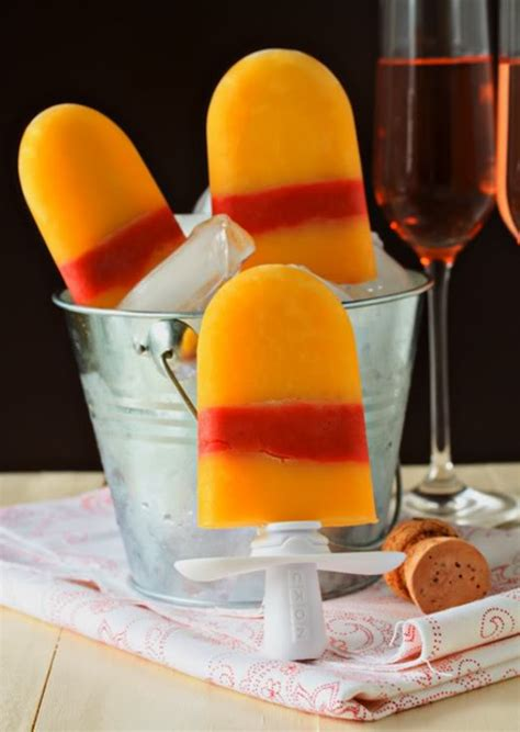 best chagne for mimosa recipe mimosa popsicles because im addicted