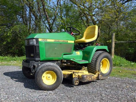 Diesel Garden Tractor by Used Deere 455 Diesel Garden Tractor