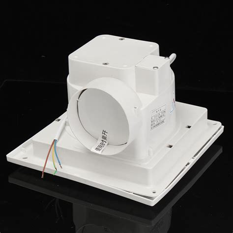 wall mount ventilation fan for air vent exhaust toilet