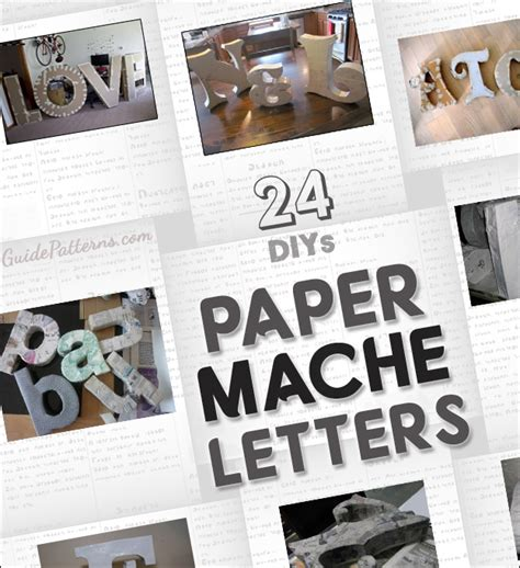 Free Paper Mache Patterns