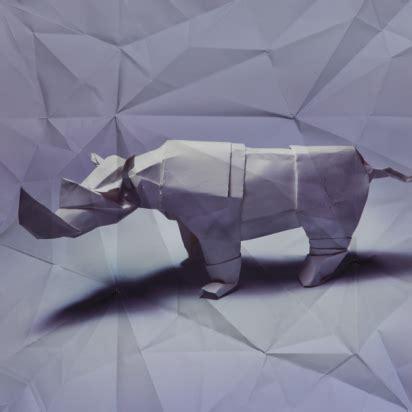 Rhino Origami - marc fichou s origami animals