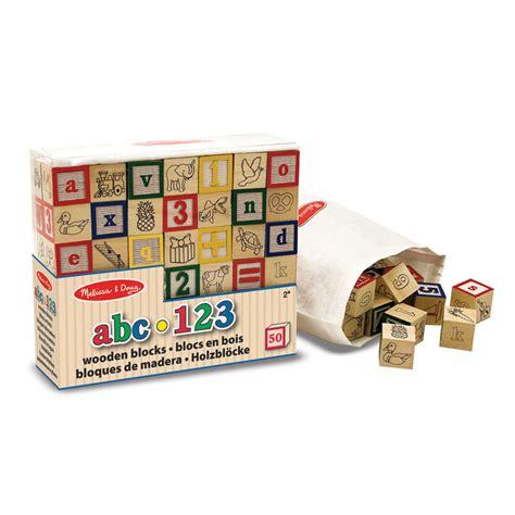 Doug Abc123 Wooden Blocks bloques de madera abc 123 juguetes dideco