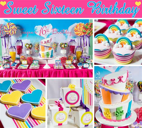 birthday themes sweet 16 katy perry sweet sixteen party