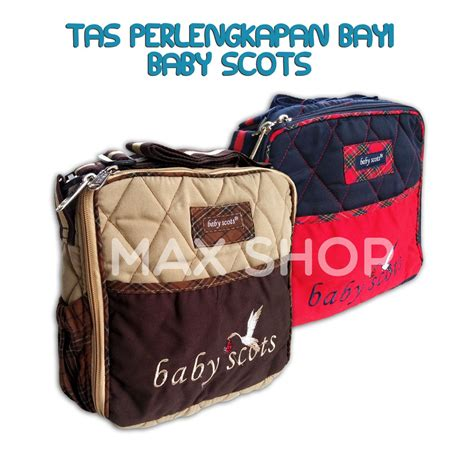 Tas Bayi Simple tas baby scots scots embroidery simple bag tas diapers