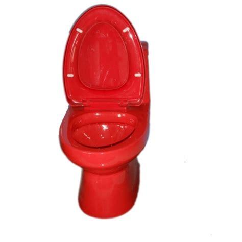 Bidet For One Piece Toilet Toilet Bowl Red