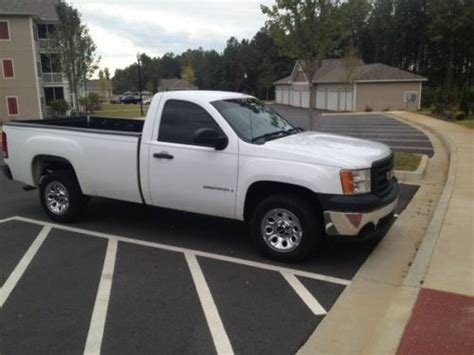 gmc sierra truck bed for sale sell used 2008 gmc sierra 1500 extended bed 2dr 2wd work