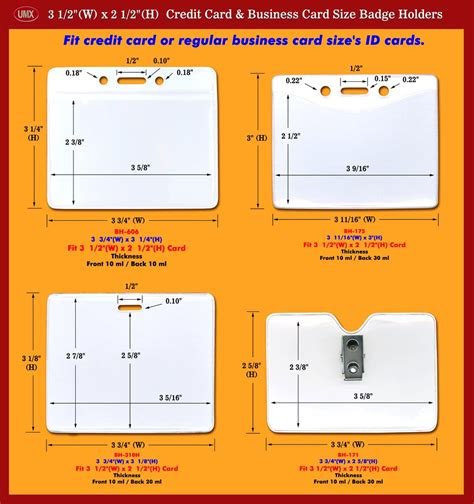 lanyard card size template badge holders schematic credit card or business card size