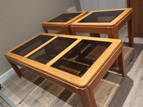 matching coffee table and end tables coffee table with matching end tables saanich