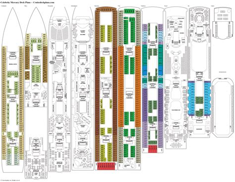 layout jade norwegian jadese ship deck plans deckplans jade 31424 2481