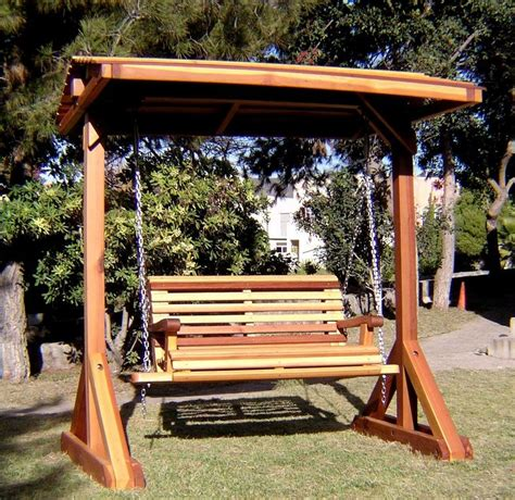 bench swing sets built   decades  redwood