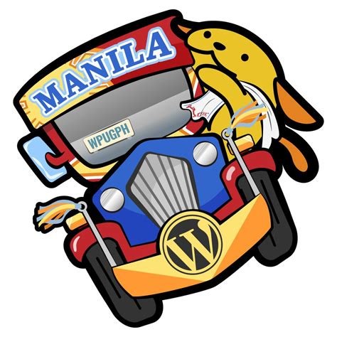 jeepney cartoon introducing wordc manila s official mascot for 2017