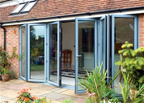 bi fold doors folding patio doors somerset