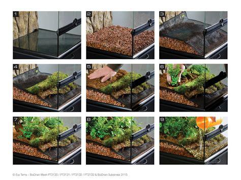 exo terra bio drain substrate terrarium draining substrate