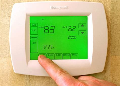 honeywell thermostat red light honeywell thermostat red check light on