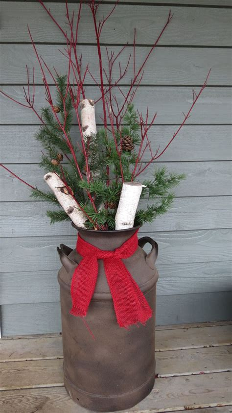 hobby lobby outdoor christmas decorations 80 best images about milk cans on vinyl designs front porches and sprays