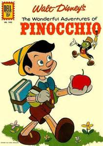 pinocchio comic book cover photos scans pictures 1 2 3 4