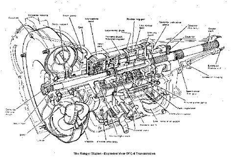 ford c4 transmission diagram project 666 receives tci s rugged c4 transmission stangtv
