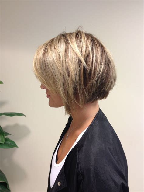 bob hair with high lights and lowlights lowlights and short bob done by allison wilson statesboro