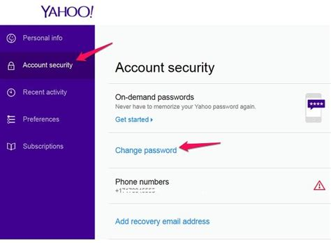 email yahoo change password how to check recent yahoo mail login activities 1 888 335