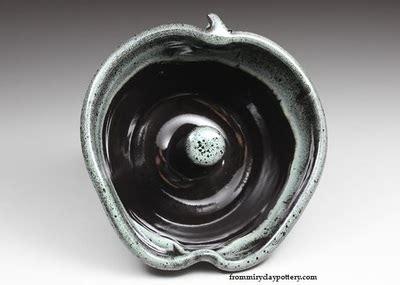 Set 5 Nb09 handmade pottery glaze color options new black