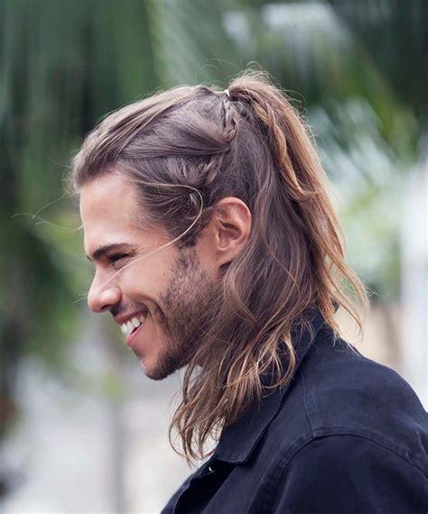 corte pelo largo hombre peinados de moda para hombres con cabello largo