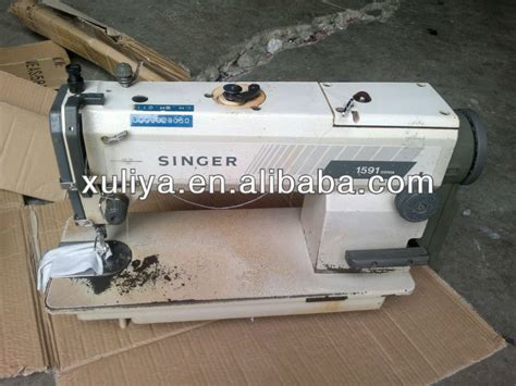 reconditioned second singer 1591 used leather sewing