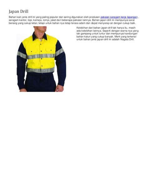 Kain Untuk Baju Dinas berbagai jenis kain drill untuk bahan baju seragam kantor anda