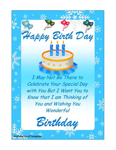 announcement name cards free template birthday card layout mughals