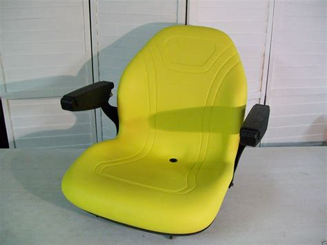 lawn mower seats with armrests high back replacement seat with arm rests to fit