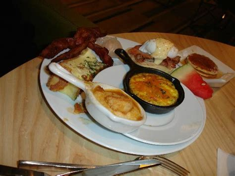 assortment of breakfast items picture of bacchanal