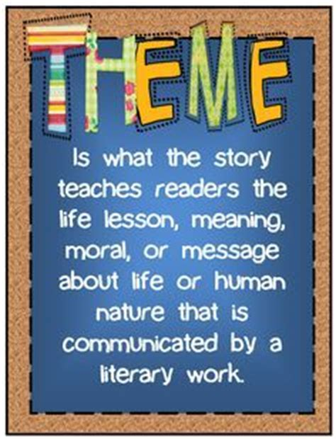 how to teach themes of a story 43 best images about teaching theme in literature on